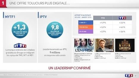 Les 4 enjeux majeurs de TF1 à l'horizon 2020 | La vidéo dans un monde connecté | Scoop.it
