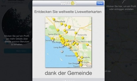 wezzoo: Wetter-App für Social-Media-Fans | Weather By You | Scoop.it
