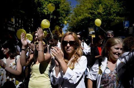 Portugal : les blouses blanches en grève contre l'austérité | Echos syndicaux | Scoop.it