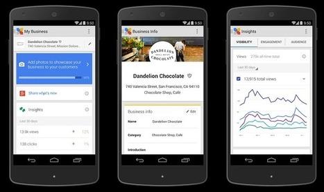 Google My Business, un service qui simplifie la présence sur le web des entreprises | Digital News & best practices | Scoop.it