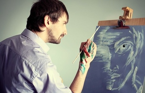 Atteint d'alzheimer, il peint son autoportrait durant 5 ans et le résultat est saisissant | Veille Sénior | Scoop.it