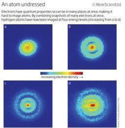 Smile, hydrogen atom, you're on quantum camera - New Scientist | Physics N'Stuff | Scoop.it