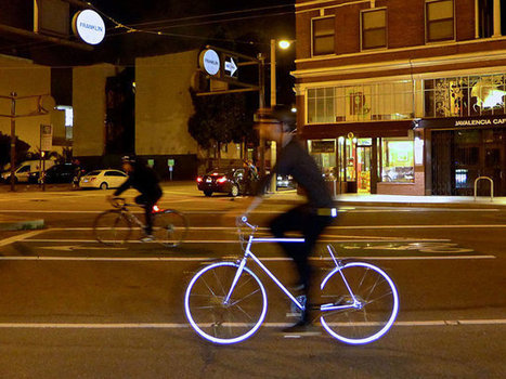 This Glow-In-The-Dark Bike Could Save Your Life   Industrial Design   Scoop.it