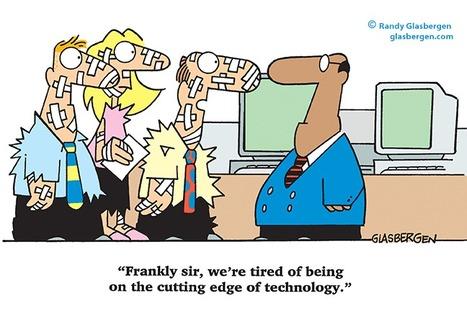 Cutting Edge - by Randy Glasbergen | fun for geeks | Scoop.it