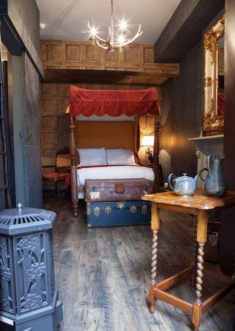 VIDEO. A Londres, dormez à Poudlard comme Harry Potter - L'Express | Veille hôtelière | Scoop.it