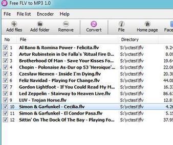 Free FLV to MP3 - Extraer audio de vídeos FLV | Las TIC en el aula de ELE | Scoop.it