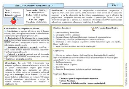 Modelo de Unidad Didáctica para un centro TIC | Actiludis | Educando nas TIC | Scoop.it