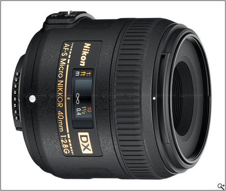 Nikon launches AF-S DX Micro Nikkor 40mm F2.8 macro lens: Digital Photography Review | Photography Gear News | Scoop.it