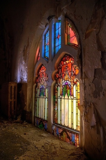 Abandoned | Stained Glass | Scoop.it