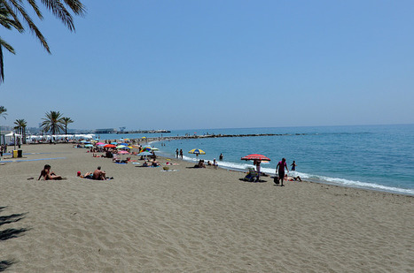 "The ""Golden Mile"" of Marbella 