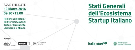 Stati Generali dell'Ecosistema Startup Italiano | Ecosistema 2.0 | Scoop.it