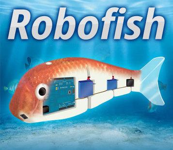 Robofish: create your robot fish with Arduino   Arduino progz   Scoop.it