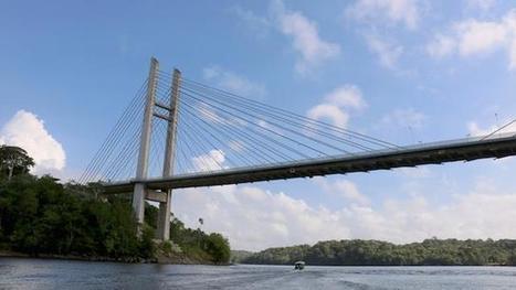 El misterio del millonario puente entre Brasil y la Guyana Francesa que nadie ha podido cruzar - BBC Mundo | limes | Scoop.it