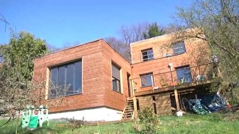 [témoignage] Un propriétaire nous ouvre les portes de sa maison en bois ! (vidéo) | Immobilier | Scoop.it
