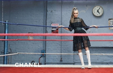 Chanel goes boxing / Fall Winter 2014 | Percy Mode | Maison Chanel | Scoop.it