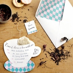 Printable Tea Party Invitations | Valentine Gifts for Grandma | Scoop.it