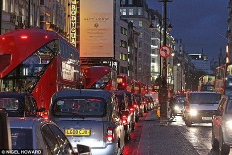London drivers set to spend 97 hours a year stuck in traffic by 2030 | F584 Transport | Scoop.it