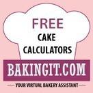 Free Cake Calculators | Delish Recipe | Scoop.it