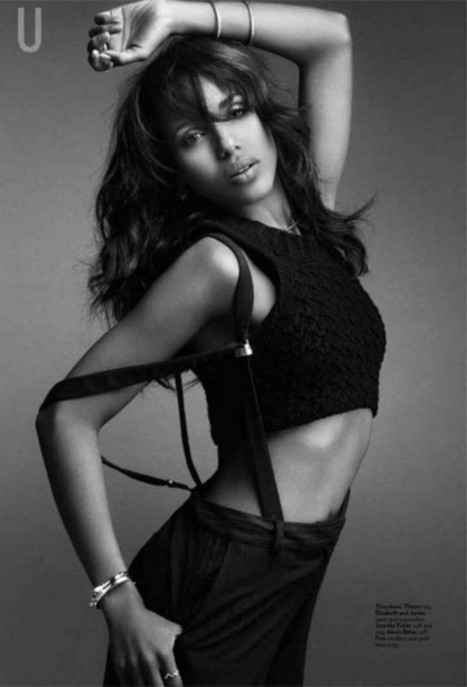 HashPost.BlogSpot.com: Kerry Washington - Uptown Magazine 2013 | Art & Music Tendencies | Scoop.it