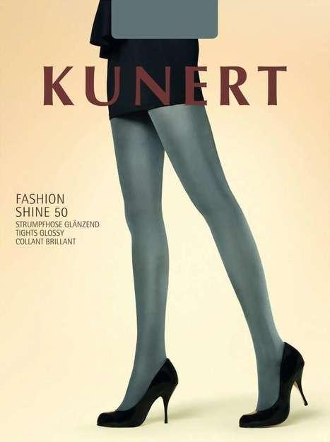 Glanzende ondoorzichtige pantys Shine van KUNERT, zwart, maat 40-42   pantys-boutique.nl   Pantys Kousen   Scoop.it