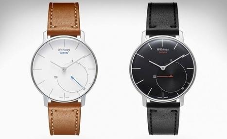 #IoT : La startup Française Withings lance la 1ère montre connectée...qui ressemble à une montre - Maddyness | STEVEN ABAJOLI | Scoop.it