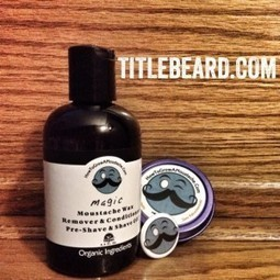 Product Review: How To Grow A Moustache Organic Moustache Wax and Organic Moustache Wax Remover : Title Beard | How to Grow a Moustache | Scoop.it