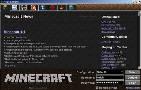 Magic Launcher Tool for Minecraft 1.7.4 | Minecraft Installers | Scoop.it
