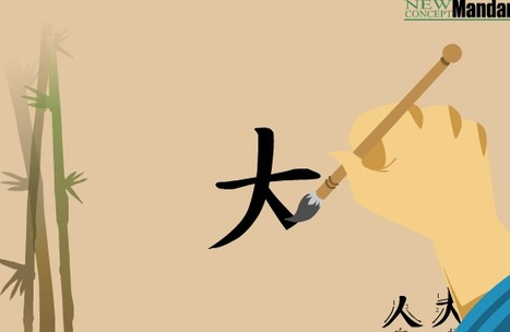 New Concept Mandarin - Stories of Characters: 人,大,天 | Chinese | Scoop.it
