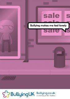 BullyingUK Click, Create & Print - Flash poster creator | Bullying | Scoop.it