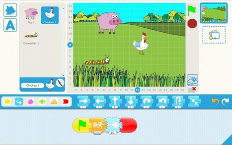 ScratchJr | serious games in higher education | Scoop.it