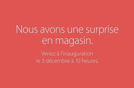 C'est officiel : l'Apple Store de Saint-Germain ouvrira le 3 décembre 2016 | NUMÉRIQUE Nouvelles | Scoop.it