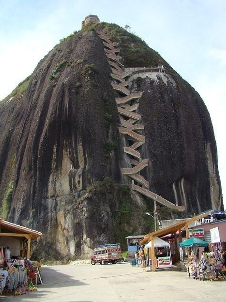 El monolito de Guatapé, Antioquia (Colombia) | Universo de Viajes | Scoop.it