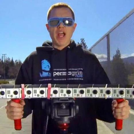 "Watch 15 GoPro Cameras Add Bullet Time to Everyday Life | L'impresa ""mobile"" 
