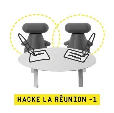 Hack du jour #5: hacke la réunion, étape 1 | Le Zinc de Co | Scoop.it