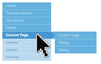 Navigation For Mega-Sites | Smashing Magazine | EEE | Scoop.it