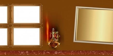 Golden Krishna Wedding PSD Background Free Download | i like psd | Scoop.it