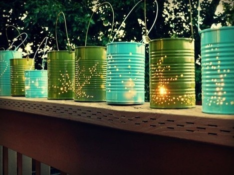 How to make tin can lanterns | Let's Upcycle! | Scoop.it