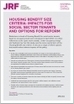 Housing benefit size criteria: impacts for social sector tenants and options for reform   Joseph Rowntree Foundation   Access to Social Housing   Scoop.it