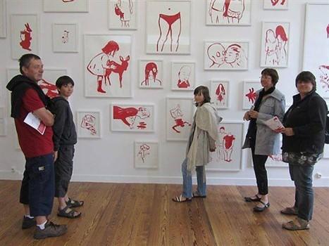 Françoise Pétrovitch expose au centre d'art contemporain , Pontmain 18/08/2011 - ouest-france.fr | Art contemporain et culture | Scoop.it