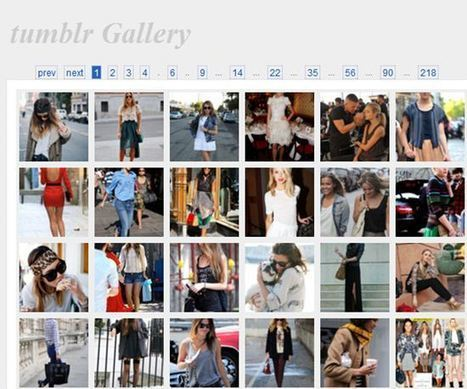Visualiser les photos d'un blogue tumblr: 10 solutions | Technologie Au Quotidien | Scoop.it