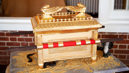 The Ark of the Covenant Cake is Face-Meltingly Awesome | All Geeks | Scoop.it