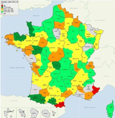 "Nouvelle carte intercommunale : une France de 1.200 à 1.400 communautés en 2017 ? | ""green business"" 