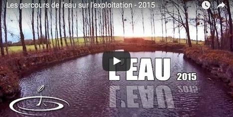Les parcours de l'eau dans l'exploitation agricole - Wikiagri.fr | Ecologie, Agro-écologie, Enseignement agricole | Scoop.it