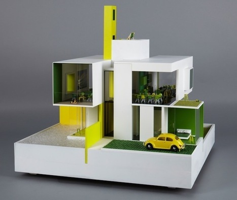 20 Fantastic Dollhouses Designed by Famous Architects - Wired | Inspiration for Entrepreneurial People | Scoop.it