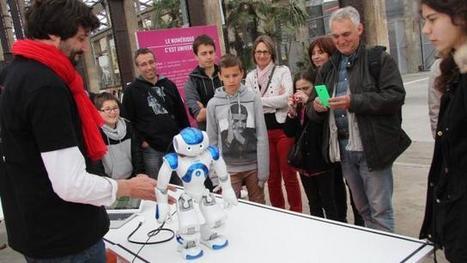 Nantes digital week. Au Robobar, faites-vous servir par un robot ! | Une nouvelle civilisation de Robots | Scoop.it