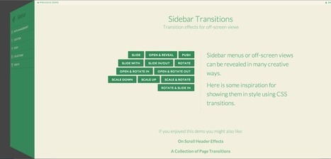 Transitions for Off-Canvas Navigations   Off Canvas Menu   Scoop.it