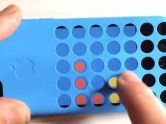 iPhone 5C: jouez à Puissance 4 avec votre coque à trous | Accessoires | Scoop.it