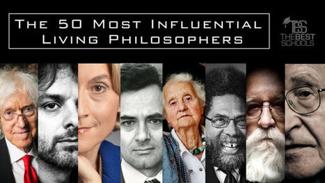 The 50 Most Influential Living Philosophers | The Best Schools | Wisdom 1.0 | Scoop.it