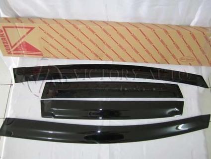 jual Talang Air Honda CRV07 w/Chrome Slim   Aksesoris Mobil Honda   Scoop.it