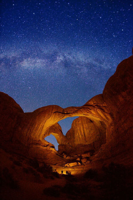 Double Arch and Milky Way stars | My Photo | Scoop.it